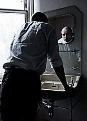 Sink (Rorie Balloch Photography) Tags: portrait man sink