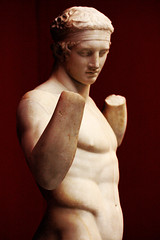 Athlete with fillet (wamcclung) Tags: sculpture male statue nude greek classical athlete polykleitos athensnationalmuseum