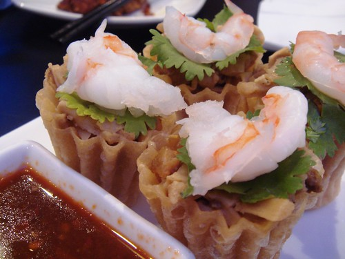 Kueh Pai Tee - Pork, bamboo Shoot and Prawn Pastry Cups