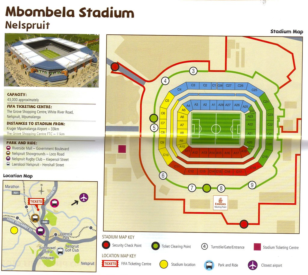 FIFA 2010 World Cup Stadium: Nelspruit Mbombela