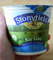 Stonyfield Fat Free Key Lime Yogurt