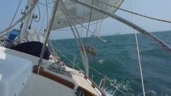 Wind, Waves, Sun, Sailing Photo