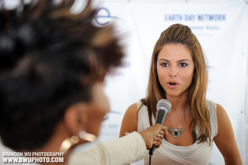 Maria Menounos @ Earth Day Climate Rally