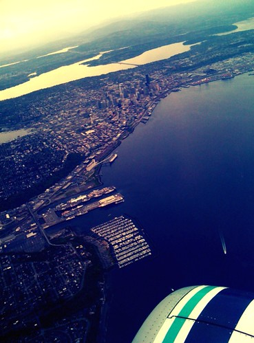 Oh Seattle, it's nice to be home.