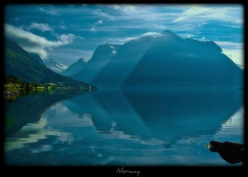 am Morgen in Norwegen - Norway