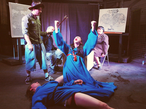 Crash Boom Bang Theatre + Dead Workers Party = Short Shorts