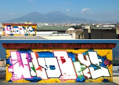 Rota-Zeus40 Naples 2010' (Zeus40 and Wildboys) Tags: italy pencil writing graffiti naples opium rota wildboys zeus40