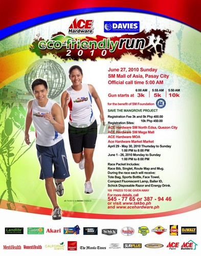 eco friendly run 2010