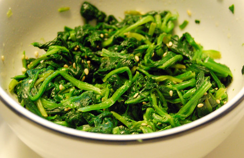 Seasoned Spinach
