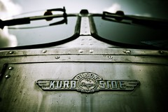 Kurb Side (bOw_phOto) Tags: bus vintage lumix design aluminum panasonic bauhaus pancake 20mm camerabag gf1 grummanolson oldschooldigital lightroom3 20mmf17