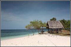 (Milesperhour Travel Photography 2008) Tags: trees white beach island asia southeastasia philippines cottage peaceful hut whitesand province leyte digyo