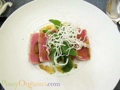 LBV Seared Tuna Carpaccio