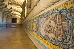monastery of st jerome (filipmije) Tags: portugal nikon lisboa lisbon belem cloister lissabon azulejos belém monasteryofstjerome d700 jeronymus monsterium mosteirodosjeronymos