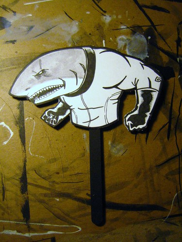 Space Shark - Handmade Collectible 0001