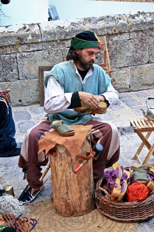 Zapatero medieval