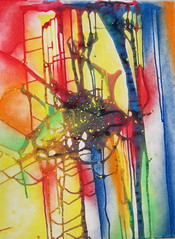 Pour It, Drip It, Spill It (Danni Jacobs) Tags: colors artwork paint pastels