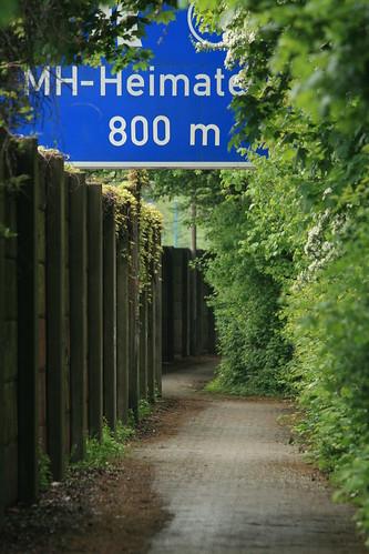 Fußweg durch Heimaterde
