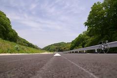 新しい道路(工事中)