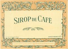sirop cafe