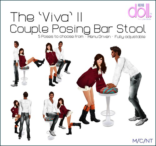 VIVA COUPLE BAR STOOL