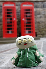Uglyworld #508 - Can I Call Home To Babo? (www.bazpics.com) Tags: trip vacation holiday skye castle landscape toy island scotland scenery edinburgh tour glasgow famous may scottish tourist adventure explore isle attraction uglydolls 2010 davidhorvath sunminkim barryoneilphotography