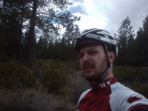 going the wrong way towards gnar mtb sections on a cx bike