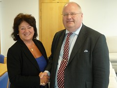 Eric Pickles meets Dame Margaret Eaton - 13 May 2010