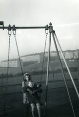 Image titled Alan Murray, swings, Cranhill Park 1969