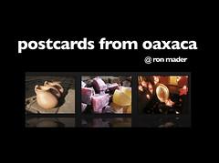 postcards from oaxaca