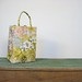 floral canvas tote by Margaret Smith