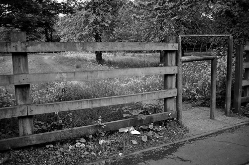 Barred Gate To Pontcanna