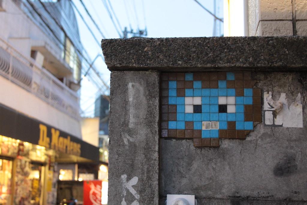 Invader in Harajuku