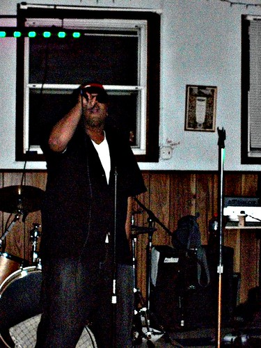 Kese Soprano performing at Tony Green's birthday bash