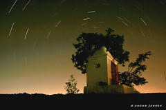 Star Shower (J Anand) Tags: longexposure nightphotography andy night stars star exposure nightscape cannon anand startrails shutterspeed baner cannon400d fixedtripod tripodphotography janand banerhill anandphotography