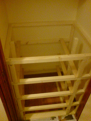 Framework for drawers