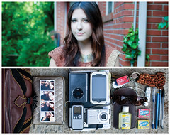 Jhoni Diptych (J Trav) Tags: camera portrait sunglasses keys persona diptych ipod wallet purse whatsinyourbag pens voicerecorder iphone handsanitizer sunglassescase jumpdrive moleskinenotebook photoboothphotos nerdscandy theitemswecarry