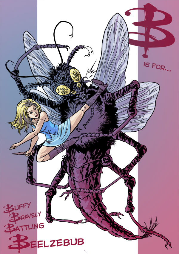 B is for... Buffy Bravely Battling Beelzebub