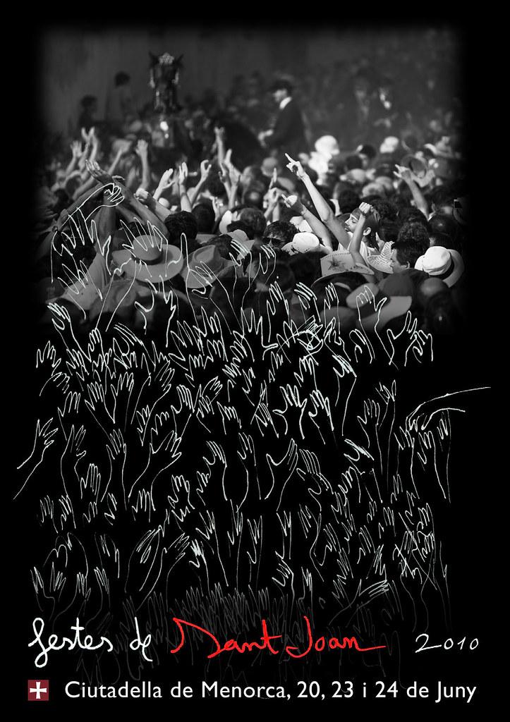 Cartell Festes de Sant Joan 2010