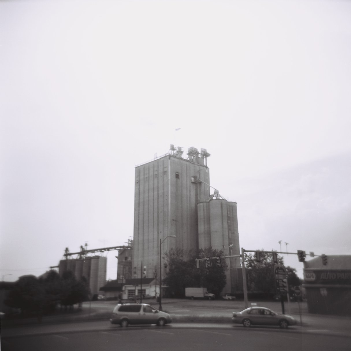 Holga Downtown Harrisonburg Feed Mill