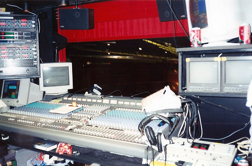 Walt Disney Theater Audio Booth, Deck 4 by Mister Brister