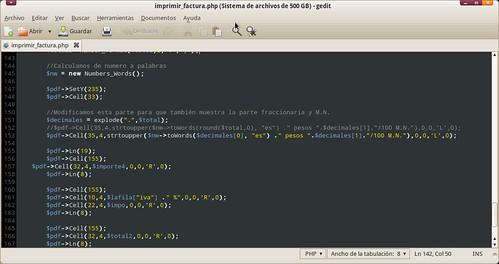 Modificando el archivo imprimir_factura.php de Codeka MX