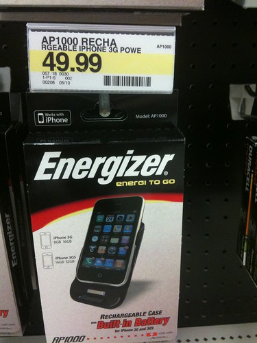 iPhone Energy to Go for the iPhone