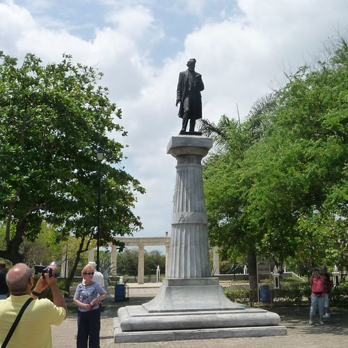 Statue of Rafael Nunez