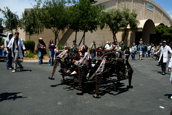 Maker Faire Mega Spider 2