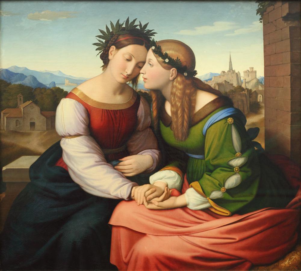 Friedrich Overbeck, Italia und Germania, 1828