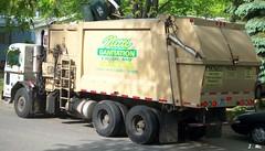 Nitti Sanitation Garbage Truck (TheTransitCamera) Tags: truck garbage sanitation peterbilt 320 heil nitti
