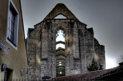 Ruins. Visby. Ruinas