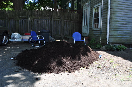 2 yards of mulch