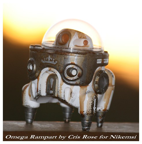 Omega Rampart by Cris Rose