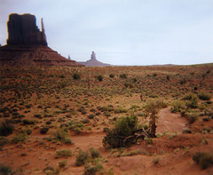 (kellee_g) Tags: arizona 120 film mediumformat utah holga roadtrip monumentvalley navajotribalpark navajoindiannation